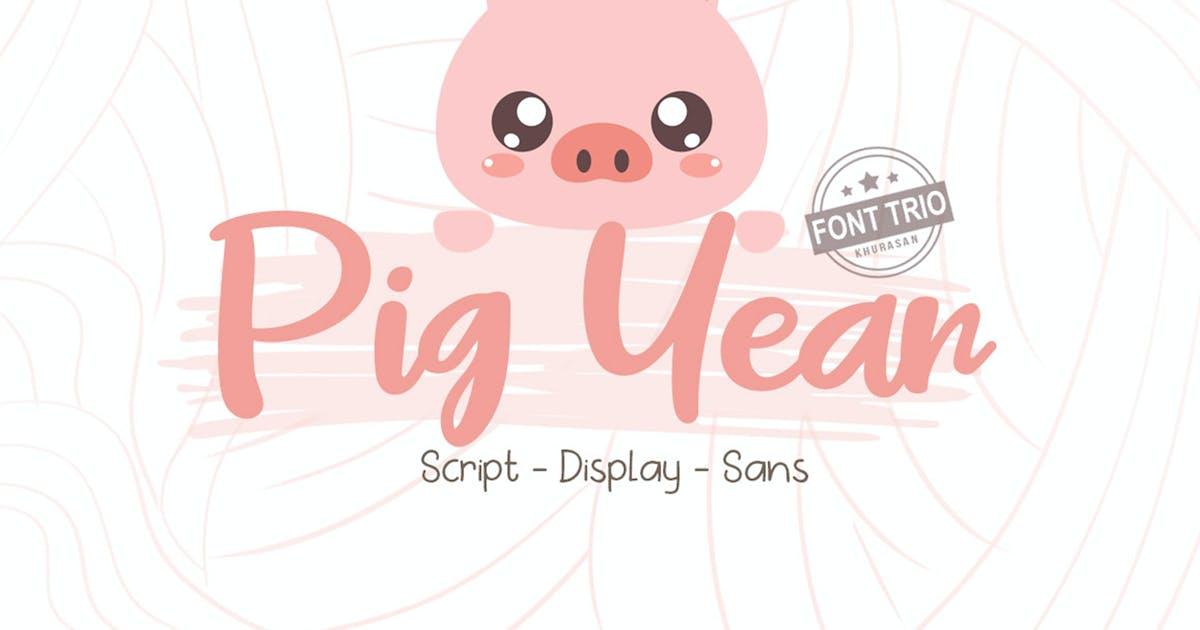 Download Pig Year 3 Font by khurasan