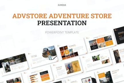 Advstore Приключения Магазин Powerpoint Презентация T