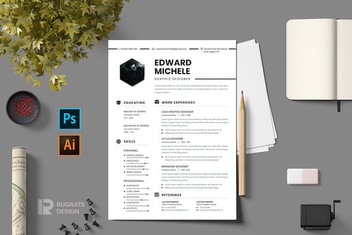 Thumbnail for CV Resume r1