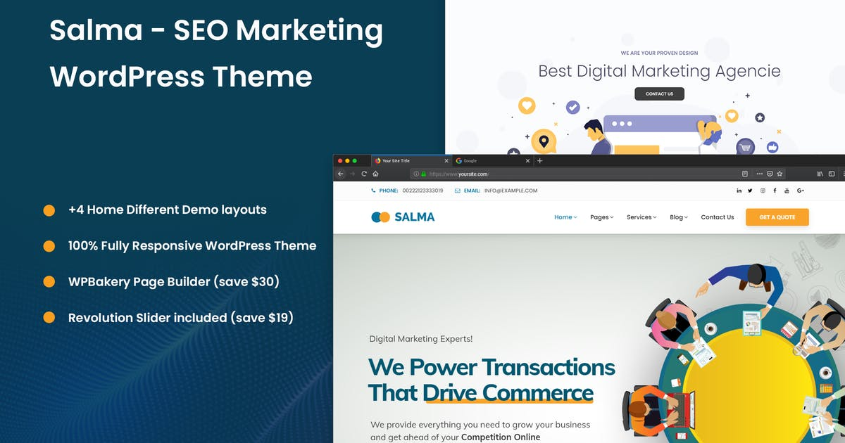 Download Salma - SEO Marketing WordPress Theme by Nile-Theme