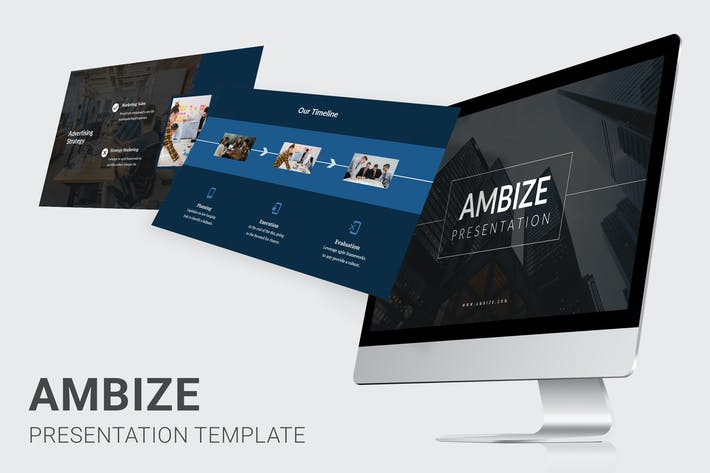 Thumbnail for Ambize - Pitch Deck Powerpoint