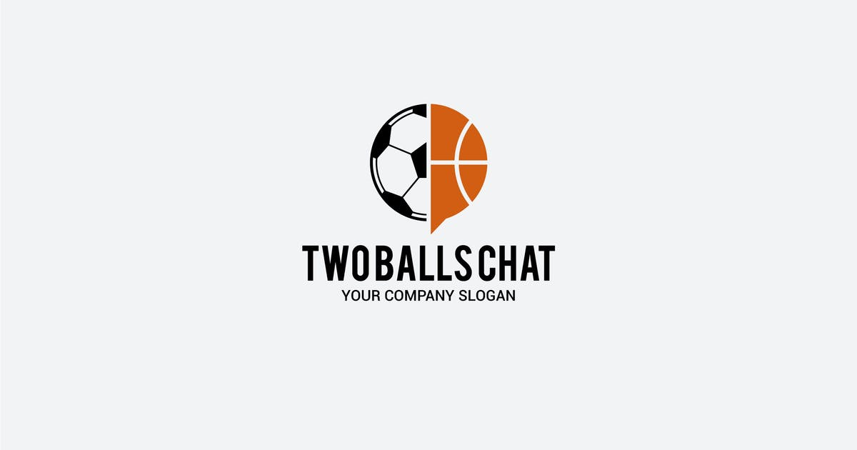 two balls chat by shazidesigns