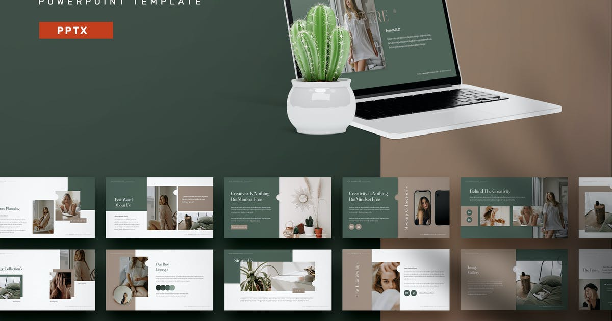Download Monospare - Powerpoint Templates by Streakside