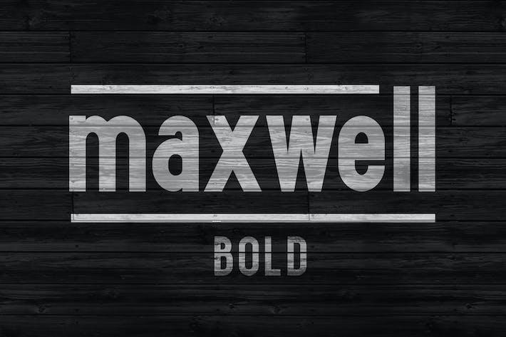 Thumbnail for Maxwell Sans Bold