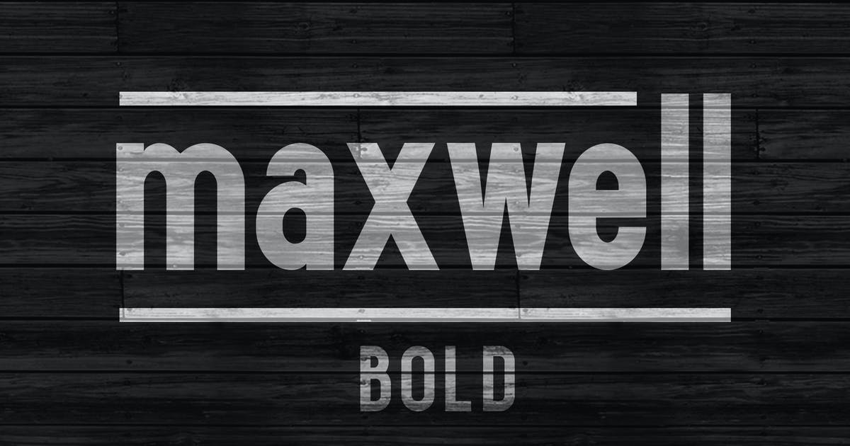 Download Maxwell Sans Bold by kimmydesign