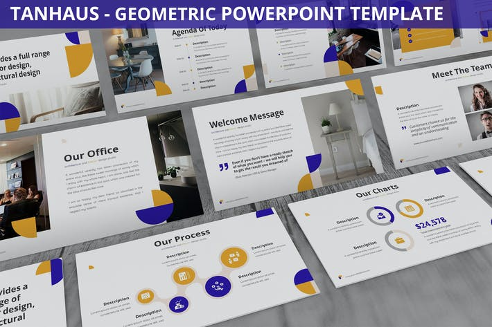 Tanhaus - Geometric Powerpoint Template