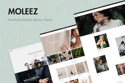 Moleez - Minimalist Shopify Theme