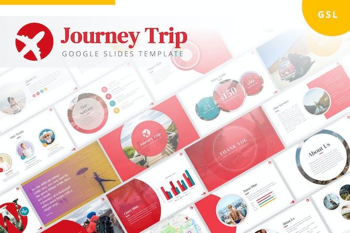 Thumbnail for Journey Trip Google Slides Template