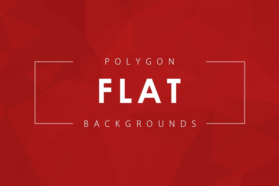 Flat Polygon Backgrounds