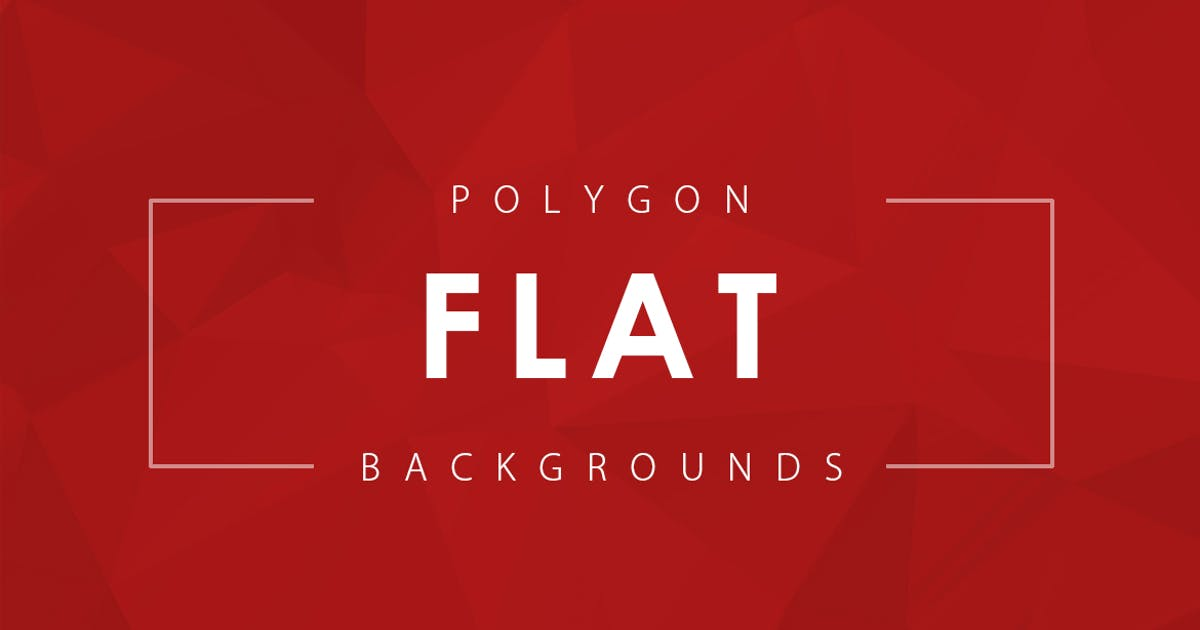Download Flat Polygon Backgrounds by M-e-f