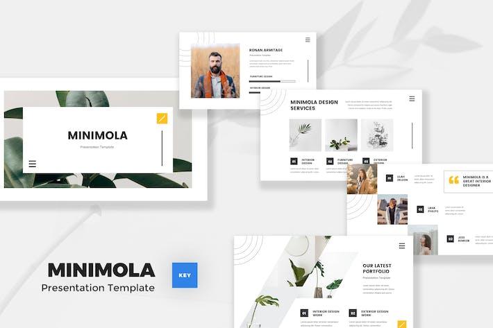 Thumbnail for Минималистский шаблон Keynote