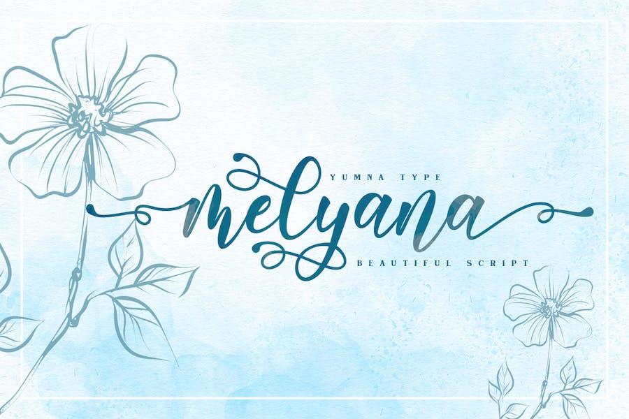 Melyana Script