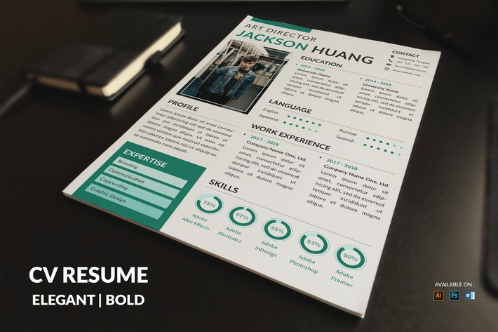 Thumbnail for CV Resume Modern And Clean