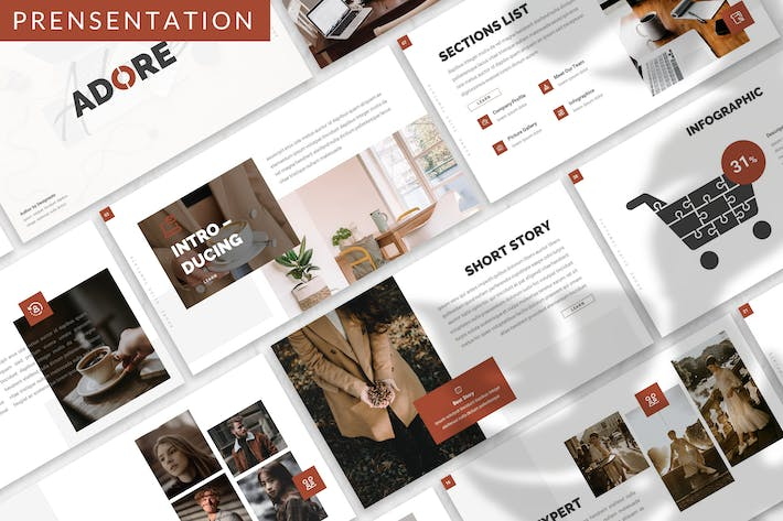 Thumbnail for Adore - Business Prensentation Template