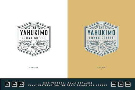 Logo du café - Café Yahukimo Luwak
