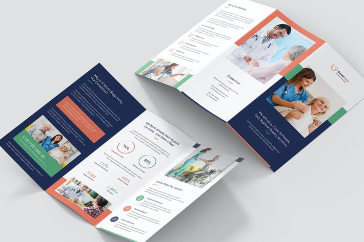 Brochure – Senior Care Tri-Fold