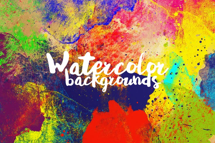 Thumbnail for Abstract Watercolor Backgrounds