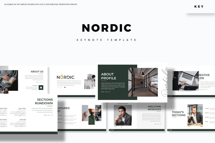 Thumbnail for Nordic - Keynote Template