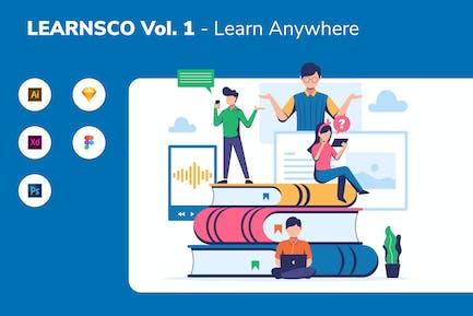 LEARNSCO Vol.1 - Lernen Sie überall