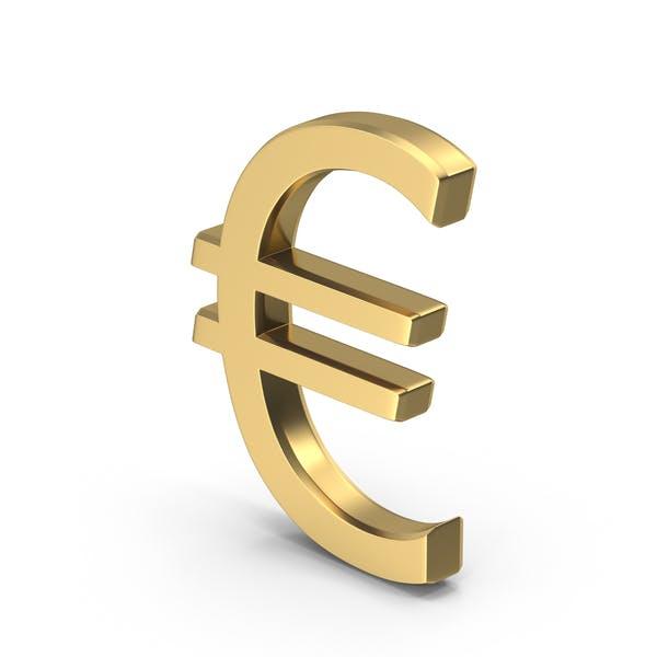 Thumbnail for Golden Euro Sign