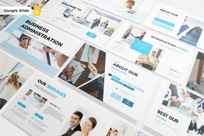 Thumbnail for BUSINESS ADMINISTRATION - Google Slide V519