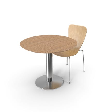 Shell Chair and Table
