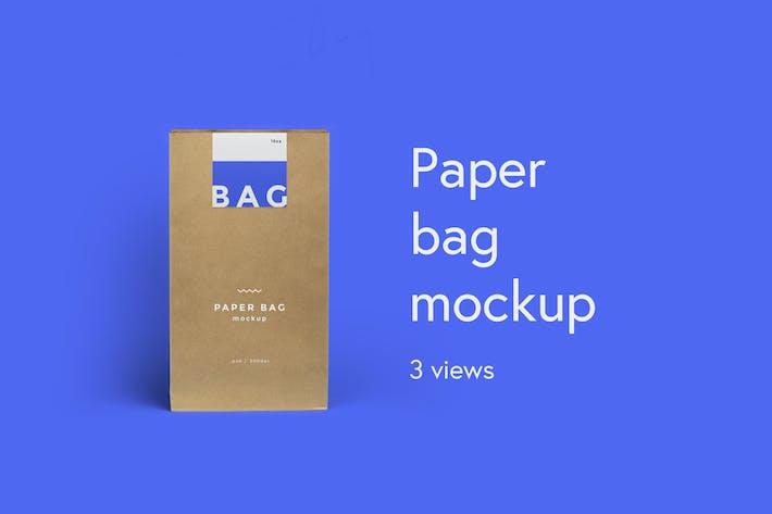 Thumbnail for SAC - maquette de sac en papier