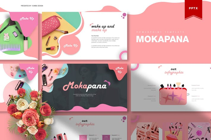 Thumbnail for Mokapana | Powerpoint Template
