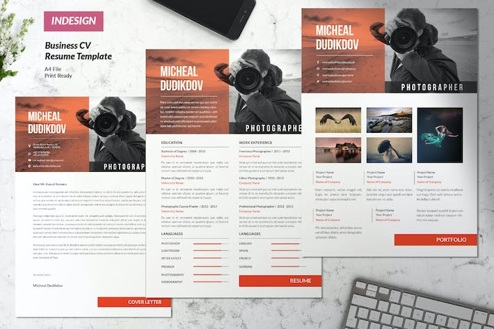Cover Image For Creative Business Resume Vol. 40