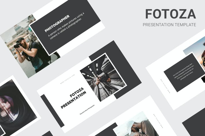 Thumbnail for Fotoza - Education About Photography Powerpoint