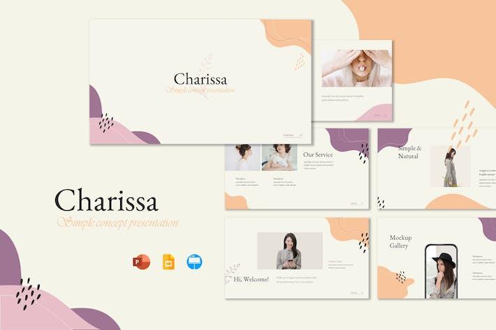 Thumbnail for Charissa - Шаблон презентации