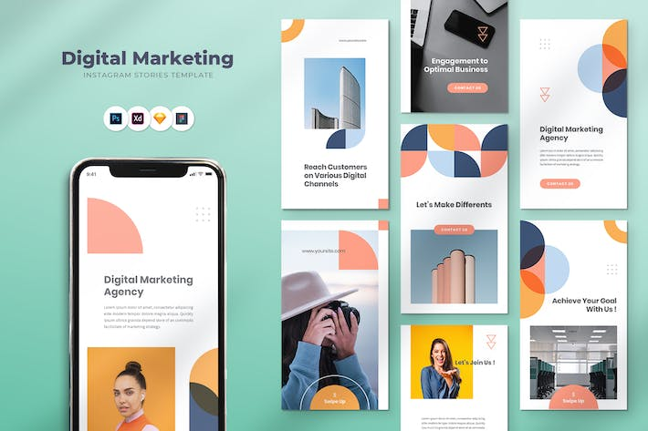 Thumbnail for Digital Marketing Instagram Stories