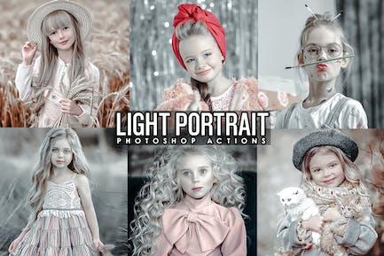Light Portrait Photoshop Actions