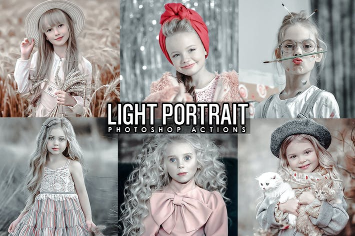 Thumbnail for Light Portrait Photoshop Actions