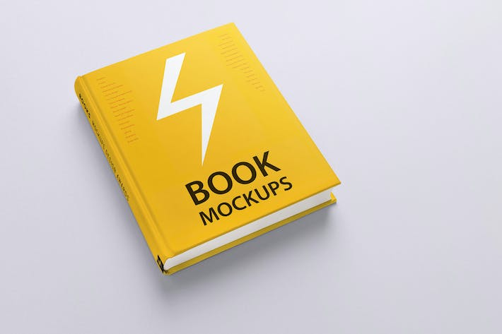 Thumbnail for Book Mockups / 10 Different Images