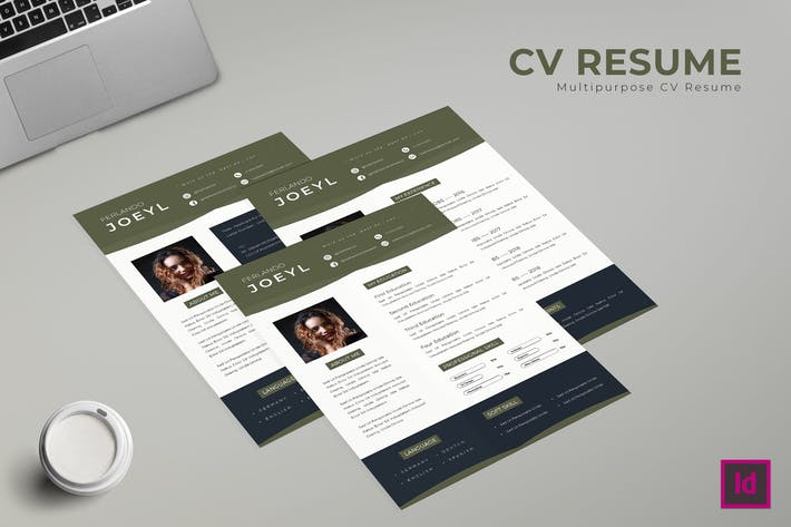 Thumbnail for Simply Resume Template
