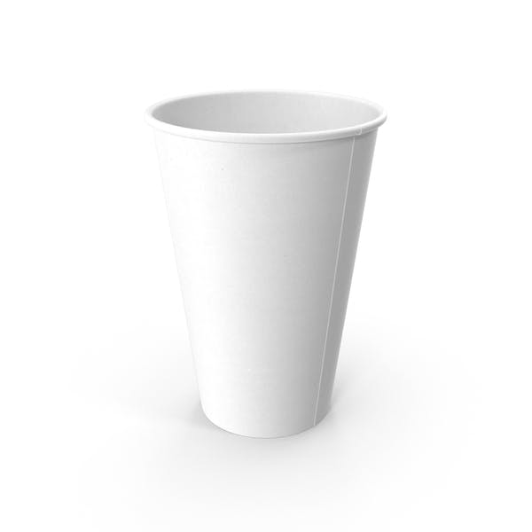 Бумажная чашка Пустой
