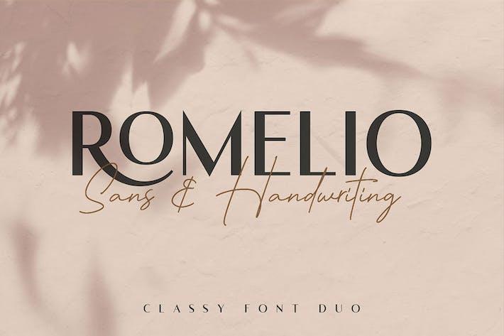 Thumbnail for Romelio Font Duo