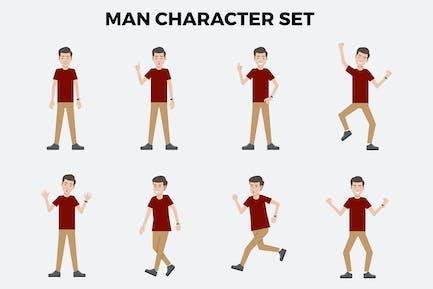 Man Character Set – Illustrations