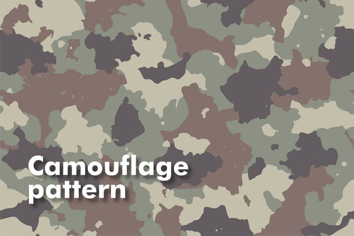 Thumbnail for Camouflage Seamless Patterns