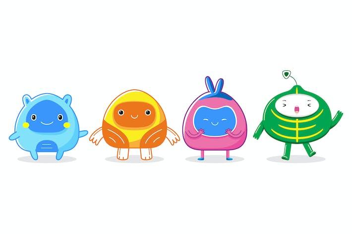 Thumbnail for Cute Mascot Character