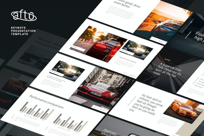 Cover Image For Afto - Elegant Keynote Template