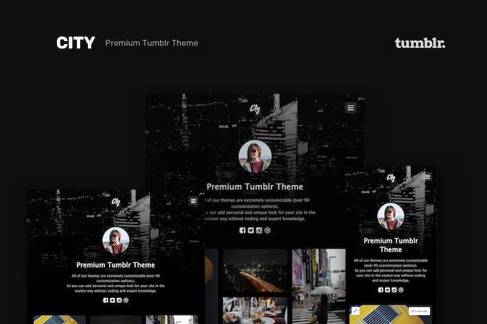 Thumbnail for Город | Высокое качество Портфолио Tumblr Тема
