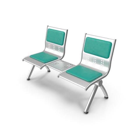 Metal Seats with Shelf