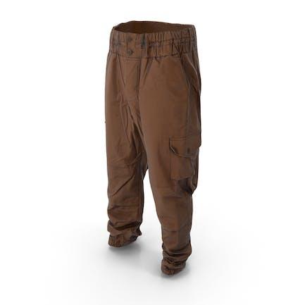 Militärische braune Hosen