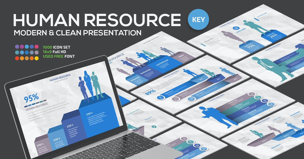 Download Human Resource Keynote Presentation by mamanamsai