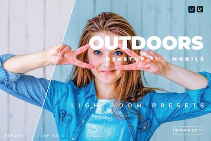 Outdoors Desktop and Mobile Lightroom Preset