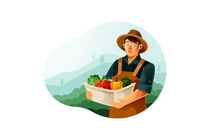 Thumbnail for Harvest vegetables in the garden