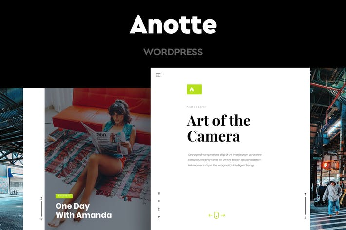Thumbnail for Anotte - Horizontal Photography WordPress Theme