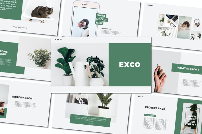 Thumbnail for Exco | Keynote Templates